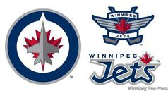 The new logo for the Winnipeg Jets