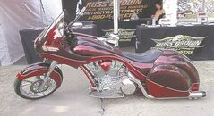 Baggers, or custom motorcycles with an eye on touring were all the rage this year.