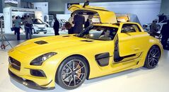 Mercedes SLS AMG Coupe Black Series