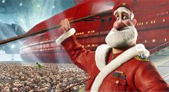 Santa Claus, as seen in the 2011 animated move Arthur Christmas. In recent years, the Christmas icon has been getting an overhaul.