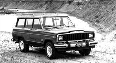 This undated product image provided by Chrysler shows the 1981 Jeep Cherokee. The 2014 Cherokee midsize SUV makes its debut Wednesday, March 27, 2013 at the New York International Auto Show. The remake is so radical that observers might not realize it's a Jeep. (AP Photo/Chrysler)