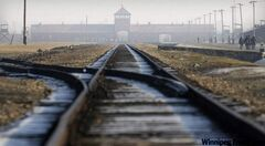 Auschwitz-Birkenau as it appears today. When the Nazis emptied it in 1945, Avey and Lobethal both survived the death march that followed.