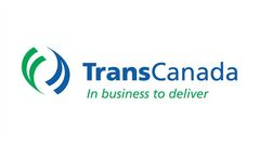 The corporate logo of TransCanada Corp.(TSX:TRP) is shown. THE CANADIAN PRESS/HO
