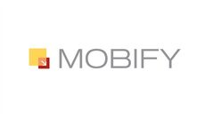 The corporate logo of Vancouver-based mobile app company, Mobify, is shown. THE CANADIAN PRESS/HO