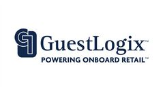 The logo of GuestLogix Inc. (TSX:GXI), a provider of onboard retail technology to the airline industry, is shown. THE CANADIAN PRESS/HO
