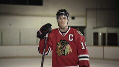 Jonathan Toews an 'extremey nice, pleasant and very soft-spoken' guy.