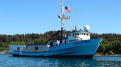 This undated handout photo provided by Alaskan Leader Tours, shows the converted fishing boat,