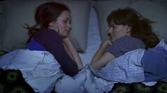 This photo provided by IFC Films shows Emily Blunt, left and Rosemarie DeWitt from Lynn Shelton's