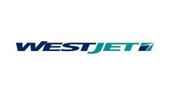 The logo for WestJet is shown. THE CANADIAN PRESS/HO