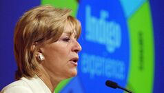 Indigo CEO Heather Reisman speaks in Toronto in a file photo. THE CANADIAN PRESS/AP, Frank Gunn