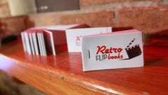 Mike and Kendra Gordillo, owners of Retro Flipbooks, can create a 60-page flipbook using images they shoot at events such as weddings.