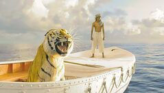 Suraj Sharma in Life of Pi. Ang Lee's Life of Pi will open the 50th annual New York Film Festival on Sept. 28.