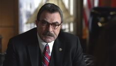This screen-grab image released by CBS Entertainment shows Tom Selleck as Frank Reagan in a scene from the series,