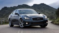 The technology in Infiniti's M sedans, which also involves four microphones in the cabin, is from Bose, a leading maker of noise-cancelling headphones.