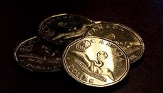 The 2012 lucky loonie is pictured in Calgary, July 19, 2012. THE CANADIAN PRESS/Jeff McIntosh