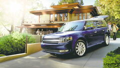 For 2013, the Ford Flex has a new grille, along with new headlights and front fascia