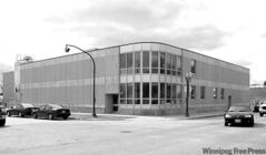 The Whiteshell Dairy Foods Ltd. factory on Dufferin Avenue.