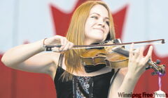 Sierra Noble, 19, is a recipient of the Queen's Golden Jubilee medal for her musicianship.