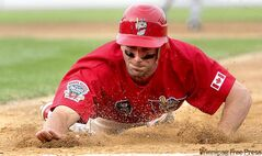 Goldeyes shortstop Wes Long will slide back to Winnipeg in 2011. Injuries and interest from big-league organizations cut short his two prevous stints at Shaw Park.