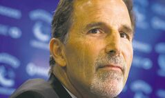 Vancouver Canucks� head coach John Tortorella pauses during a news conference after he was hired by the NHL hockey team in Vancouver, B.C., on Tuesday June 25, 2013. THE CANADIAN PRESS/Darryl Dyck