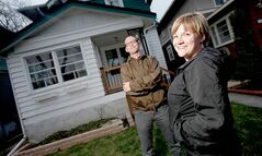 Chris Somers and Jodi Munn have to rewire in the Mulvey Avenue house they just purchased or they can't get insurance.