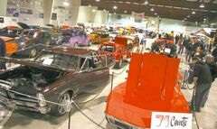 Both ice surfaces at East End Arena in Transcona will be packed with a spectacular selection of classic and special-interest vehicles.