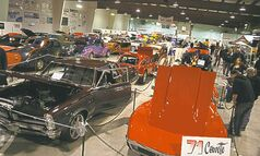 Both ice surfaces of the East End Arena in Transcona will be loaded with amazing cars and trucks  this weekend at the Rondex Rodarama car show.