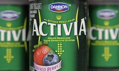 Containers of Activia are seen on Wednesday, Dec. 15, 2010, in Montpelier, Vt. (AP Photo)