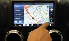 In-car QNX Software technology is pictured in Ottawa on July 13, 2012. THE CANADIAN PRESS/Sean Kilpatrick