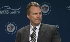 Winnipeg Jets' General Manager Kevin Cheveldayoff
