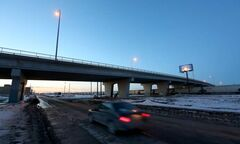 Four people, including a woman, beat cabinet minister Kevin Chief on the Slaw Rebchuk Bridge Sunday.