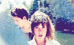 Purity Ring: Corin Roddick, left, and Megan James.