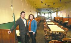 Cousins Kelvin and Karen Peters plan a complete overhaul of the former Chocolate Shop site on Portage Avenue.