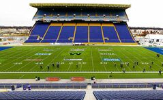 Friday was the last day of practice in the old Canad Inns Stadium for the Winnipeg Blue Bombers.