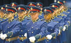 The ranks of Winnipeg police officers have never been subject to layoffs.