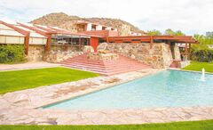 Frank Lloyd Wright built one of his masterpieces near Scottsdale -- Taliesin West, where he lived and worked. Today, it houses his school of architecture and is open for tours.