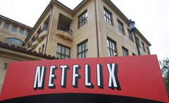 A view of Netflix headquarters is shown in Los Gatos, Calif., Jan.29, 2010. A new report suggests one in three anglophone Canadian Netflix users have figured out how to access movies and TV shows that are supposed to be available only south of the border. THE CANADIAN PRESS/AP/Marcio Jose Sanchez