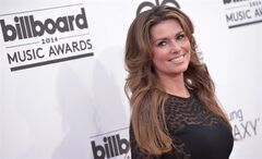 Shania Twain arrives at the Billboard Music Awards at the MGM Grand Garden Arena on Sunday, May 18, 2014, in Las Vegas. The Canadian country superstar has announced her final run of shows on the Las Vegas Strip.Twain's two-year residency at Caesars Palace will conclude with a 16-show run, culminating in a finale on Dec. 13. THE CANADIAN PRESS/AP-John Shearer/Invision AP
