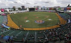 The Hiram Bithorn stadium is shown during the World Baseball Classic first round game between Spain and Venezuela in San Juan, Puerto Rico, Sunday, March 10, 2013. (AP Photo/Andres Leighton)