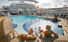Onboard Oasis of the Seas, a Royal Caribbean cruise ship. Royal Caribbean was named Best Family Cruise Line by Cruise Critic.