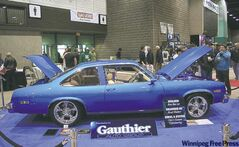 Gauthier Automotive Group recently built this spectacular 1976 Pontiac Ventura owned by lottery winners Kirby and Marie Fontaine.