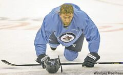 Winnipeg Jets forward Blake Wheeler leads the team in assists but has scored just three times himself so far.