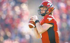 Stampeders quarterback Drew Tate had his way with the Alouettes Sunday in Calgary.