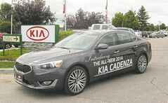 Location and showroom capacity were factors in the decision to make Birchwood KIA West the exclusive dealer of the luxury Cadenza.