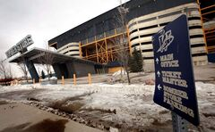 The slow deconstruction of Canad Inns Stadium should begin during the next 10 days.