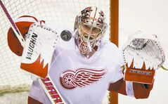 Detroit's Jimmy Howard was to become a free agent this summer before signing a new contract Tuesday.