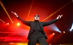 Pitbull performs for 9,000 fans at the MTS Centre Saturday night. The Miami artist features a mix of hip-hop, electro-pop and Cuban-flavoured dance music with plenty of samples by other artists thrown in for good measure.