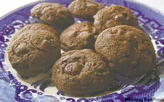 Berenice Keryluk: Double chocolate cranberry cookies