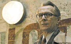 Oldman as George Smiley in Tinker Tailor Soldier Spy.