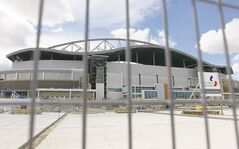 Construction continues at Investors Group Field. THE CANADIAN PRESS/Trevor Hagan